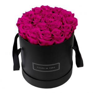 Collection Infinity Hot Pink Grand noir - rond