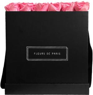 Collection Infinity Baby Pink Luxe noir - anguleux