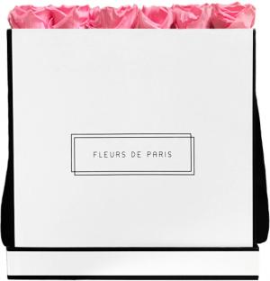 Collection Infinity Baby Pink Luxe blanc - anguleux