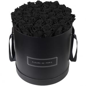 Collection Infinity Black Beauty Luxe noir - rond