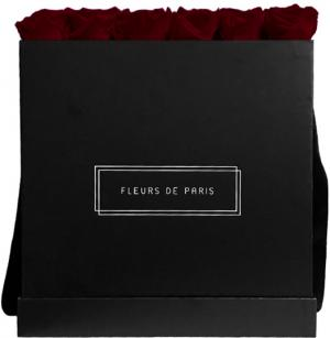 Collection Infinity Burgundy Luxe noir - anguleux
