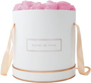 Collection Rosé Gold Bridal Pink Petit Luxe blanc - rond
