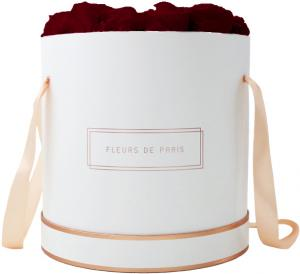 Collection Rosé Gold Burgundy Petit Luxe blanc - rond