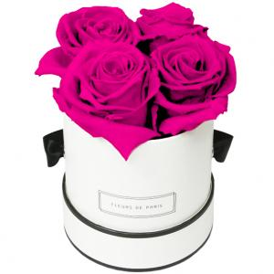 Collection Infinity Hot Pink Petit blanc - rond